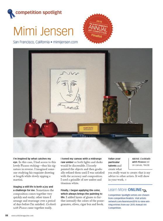 Competition Spotlight: Mimi Jensen
