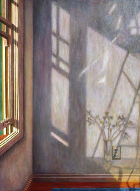 City Interior with Irises 470-640